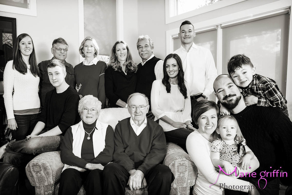 Bush-Luna Family portraits in their Denver home on Dec. 6, 2013.<br /> By: Marie Griffin Dennis<br /> mariefgriffin@gmail.com<br /> mariegriffinphotography.com