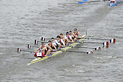 Chiswick, London, GREAT BRITAIN,  Oxford Brookes University, starting the the race, looking from Chiswick Bridge. 2011 Head of the River Race. Mortlake to Putney,  Championship Course River Thames on Saturday  02/04/2011  [Mandatory Credit, Peter Spurrier/Intersport-images]