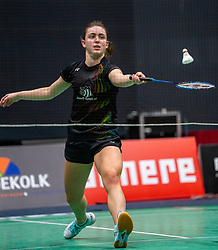 Meike Versteeg during the Dutch Championships Badminton on February 1, 2020 in Topsporthal Almere, Netherlands