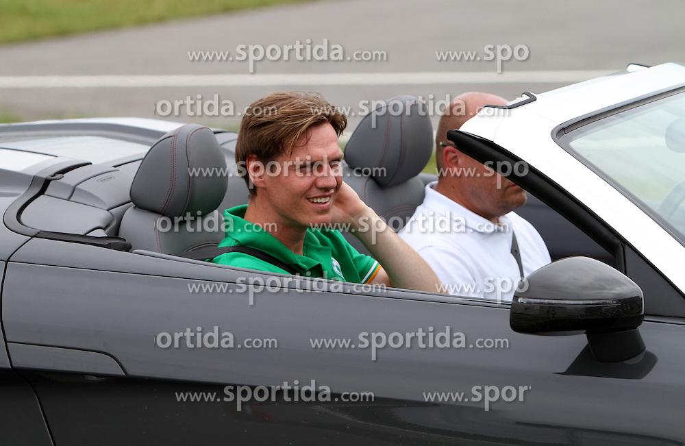 13.07.2011, ADAC Gelände, Nohra, GER  - Fahrsicherheitstraining des SV Werder Bremen im Bild Tim Borowski (Bremen #6)  //during the safety car from Werder Bremen 2011/07/13   EXPA Pictures © 2011, PhotoCredit: EXPA/ nph/  Hessland?       ****** out of GER / CRO  / BEL ******