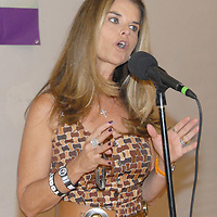 First Lady Maria Shriver speaks during the National Center on Addiction Substance Abuse's (CASA) Family Day - A Day to Eat Dinner with Your Children(TM) at the Santa Monica YMCA on Tuesday, September, 28, 2010.