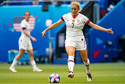 07-07-2019 FRA: Final USA - Netherlands, Lyon<br /> FIFA Women's World Cup France final match between United States of America and Netherlands at Parc Olympique Lyonnais. USA won 2-0 / Abby Dahlkemper #7 of the United States