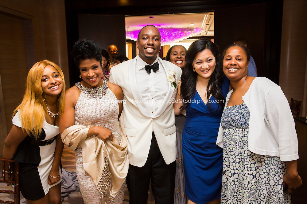 5/21/13 12:47:51 PM .The wedding of April and Sakou on Windy City Live... . © Todd Rosenberg Photography 2013