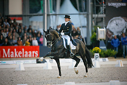 Gal Edward (NED) - Moorland Totilas<br /> CHIO Rotterdam 2009<br /> Photo © Dirk Caremans