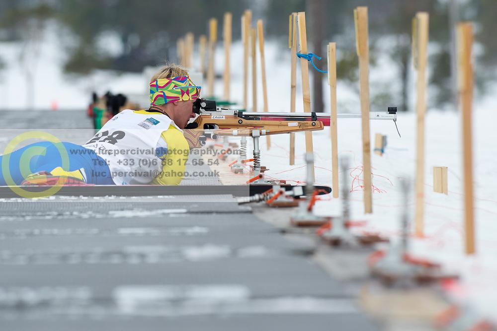 KONONOVA Oleksandra, UKR, Short Distance Biathlon, 2015 IPC Nordic and Biathlon World Cup Finals, Surnadal, Norway