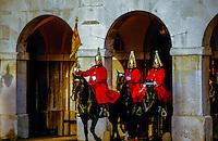 Life Guard, The Horse Guard, Whitehall, London, England