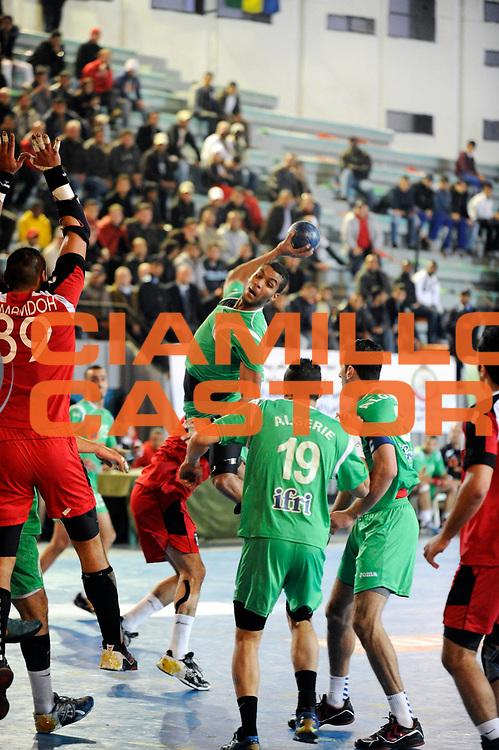 DESCRIZIONE : France Hand Coupe Afrique des Nations Homme Maroc Rabat<br /> GIOCATORE : Berkous Messaoud<br /> SQUADRA : Algerie<br /> EVENTO : FRANCE Hand CAN<br /> GARA : Algerie Egypte<br /> DATA :19/01/2012<br /> CATEGORIA : Hand CAN<br /> SPORT : Handball<br /> AUTORE : JF Molliere <br /> Galleria : France Hand 2011-2012 Action<br /> Fotonotizia : CAN Hand RABAT Maroc<br /> Predefinita :