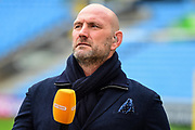 Lawrence Dallaglio during the Aviva Premiership match between Wasps and Exeter Chiefs at the Ricoh Arena, Coventry, England on 18 February 2018. Picture by Dennis Goodwin.