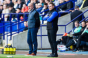 Bolton Wanderers manager Keith Hill during the EFL Sky Bet League 1 match between Bolton Wanderers and Rochdale at the University of  Bolton Stadium, Bolton, England on 19 October 2019.