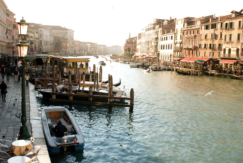 The Grand Canal Venice.