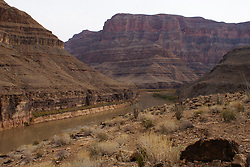 Grand Canyon West - View from Bottom of Canyon