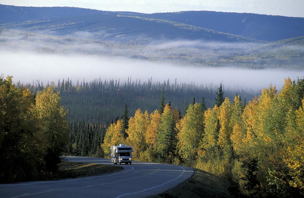 Elliott Highway.Alaska.USA