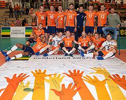 08-09-2018 NED: Netherlands - Argentina, Ede<br /> Second match of Gelderland Cup / Team Netherlands, with Robbert Andringa #18 of Netherlands