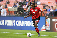 20 October 2014: Brianna Ryce (TRI). The Trinidad & Tobago Women's National Team played the Guatemala Women's National Team at RFK Memorial Stadium in Washington, DC in a 2014 CONCACAF Women's Championship Group A game, which serves as a qualifying tournament for the 2015 FIFA Women's World Cup in Canada. Trinidad and Tobago won the game 2-1 to secure advancement to the semifinals.
