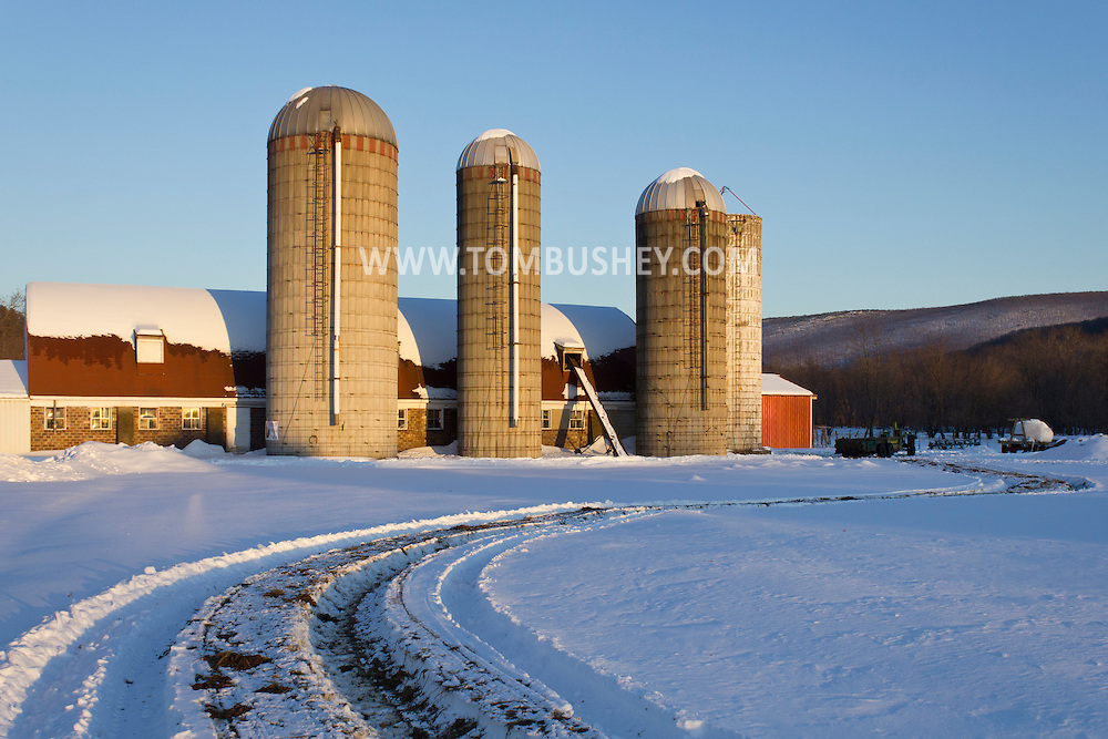 Washingtonville, New York - Udderly Fresh Farm in Washingtonville on Feb. 11, 2014.