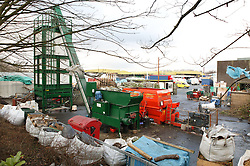 Compost making plant at Farnsfields Materials Management; Manchester,