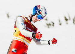 Kenneth Gangnes (NOR) during Ski Flying Hill Team Competition at Day 3 of FIS Ski Jumping World Cup Final 2016, on March 19, 2016 in Planica, Slovenia. Photo by Vid Ponikvar / Sportida