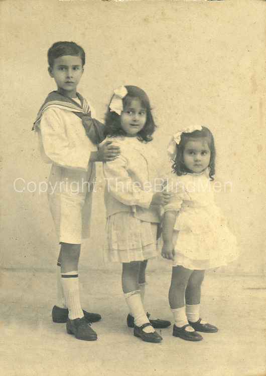 Three Children.<br />