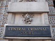 The Central Criminal Court in England, commonly known as the Old Bailey, is a court building in central London, one of a number housing the Crown Court. The Crown Court sitting at the Central Criminal Court deals with major criminal cases from Greater London and, exceptionally, from other parts of England. It stands on the site of the medieval Newgate Gaol, on Old Bailey, a road which follows the line of the City's fortified wall (or bailey), and gives the court its popular name.