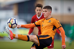 WOLVERHAMPTON, ENGLAND - Tuesday, December 19, 2017: Wolverhampton Wanderer's Ryan Giles during an Under-18 FA Premier League match between Wolverhampton Wanderers and Liverpool FC at the Sir Jack Hayward Training Ground. (Pic by David Rawcliffe/Propaganda)