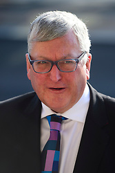 ©  London News Pictures. 28/04/2016. London, UK. FERGUS EWING MSP arrives at Portcullis House in London to give evidence to the Commons Business Committee on the future of British steel. TATA Steel. The future of Tata Steel has been in doubt since it announced it would sell its loss-making UK business. Photo credit: Ben Cawthra/LNP