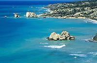 Chypre, Petra Tou Romiou, lieu de Naissance de Aphrodite // Petra Tou Romiou, Birth place of Aphrodite, Cyprus