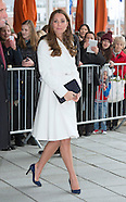 KATE Middleton Visit Ainslie Racing, Portsmouth