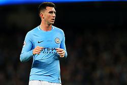 Aymeric Laporte of Manchester City - Mandatory by-line: Matt McNulty/JMP - 10/02/2018 - FOOTBALL - Etihad Stadium - Manchester, England - Manchester City v Leicester City - Premier League