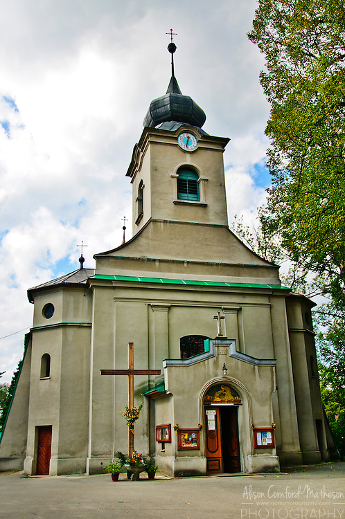 The Good Shepherd Catholic Church in the Polish village of Istebna.