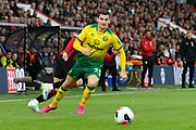 Kenny McLean (23) of Norwich City during the Premier League match between Bournemouth and Norwich City at the Vitality Stadium, Bournemouth, England on 19 October 2019.