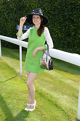 SOPHIE ELLIS-BEXTOR at the 3rd day of the 2013 Glorious Goodwood racing festival - Ladies day at Goodwood Racecourse, West Sussex on 1st August 2013.