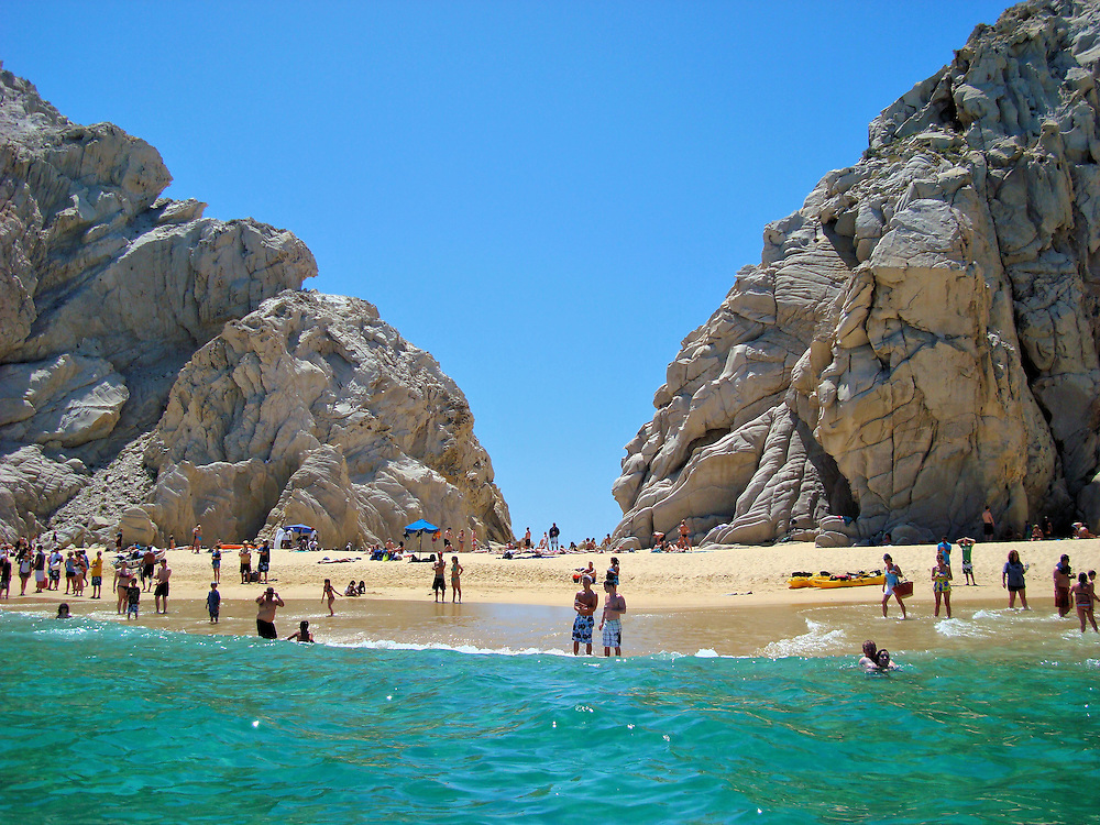 Lover&rsquo;s Beach in Cabo San Lucas, Mexico<br />