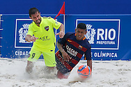 IV Mundialito de Clubes de Beach Soccer - 09 a 13 DEZ - Rio de Janeiro/Brasil - Partida entre Levante (ESP) x Barcelona (ESP) - Foto: Marcello Zambrana/Divulgação
