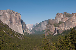 Yosemite Valley from Tunnel Viewpoint, Yosemite National Park, California, USA.  Photo copyright Lee Foster.  Photo # california121343