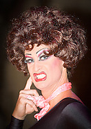 Drag Artist promotional shot. Shot during performance.
