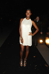 Singer JAMELIA at the Moet Mirage Evening at Holland Park Opera House, London W8 on 16th September 2007.<br /><br />NON EXCLUSIVE - WORLD RIGHTS
