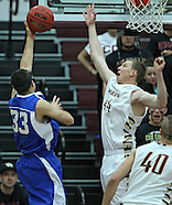 NCAA Men's Basketball - Luther at Coe - February 23, 2012
