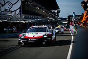 June 16-17, 2018: 24 hours of Le Mans. 93 Porsche GT Team, Porsche 911 RSR, Nick Tandy, Patrick Pilet, Earl Bamber