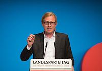 DEU, Deutschland, Germany, Berlin, 02.06.2018: Kevin Hönicke, SPD-Fraktionsvorsitzender in der BVV Lichtenberg, beim Landesparteitag der Berliner SPD im Hotel Andels.