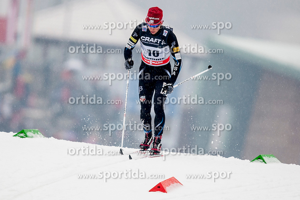 Noah Hoffman of USA during mens 10km Classic individual start of the Tour de Ski 2014 of the FIS cross country World cup on January 4th, 2014 in Cross Country Centre Lago di Tesero, Val di Fiemme, Italy. (Photo by Urban Urbanc / Sportida)
