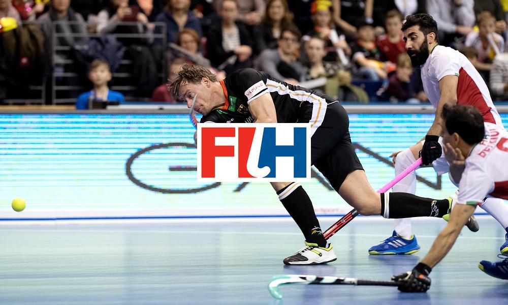 BERLIN - Indoor Hockey World Cup<br /> Semi-final 1: Germany - Iran<br /> foto: Alexander Otte.<br /> WORLDSPORTPICS COPYRIGHT FRANK UIJLENBROEK