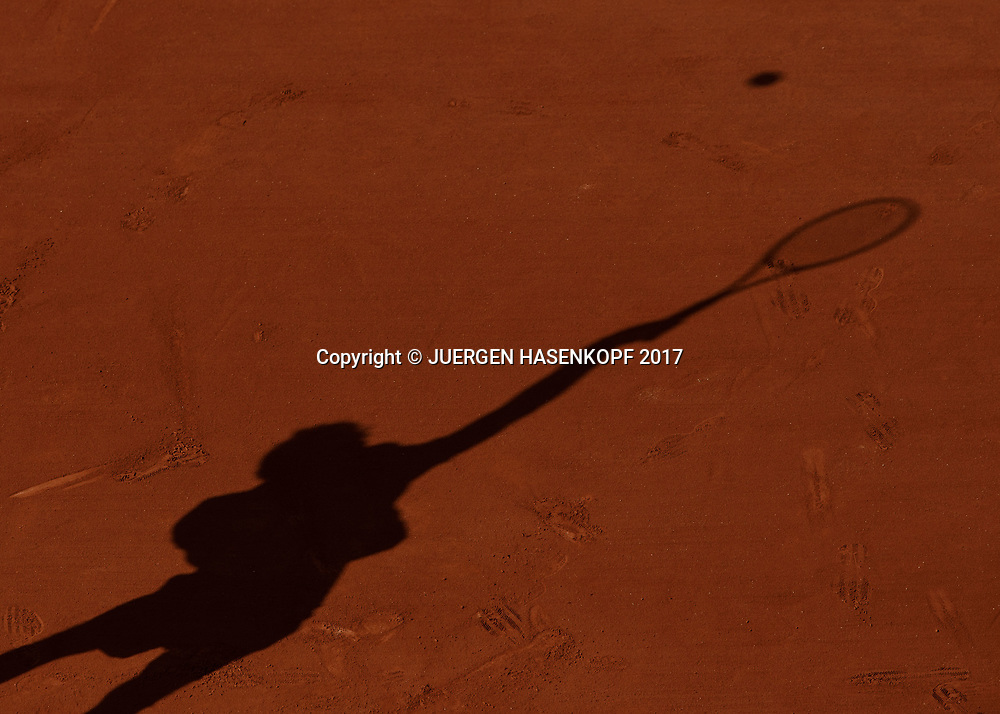 French Open 2017 Feature<br /> <br /> Tennis - French Open 2017 - Grand Slam / ATP / WTA / ITF -  Roland Garros - Paris -  - France  - 31 May 2017.