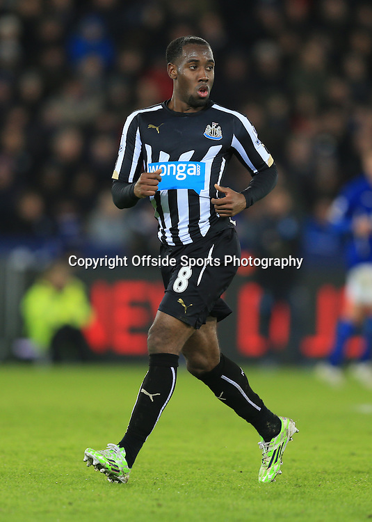 3 January 2015 - The FA Cup 3rd Round - Leicester City v Newcastle United - Vurnon Anita of Newcastle United - Photo: Marc Atkins / Offside.