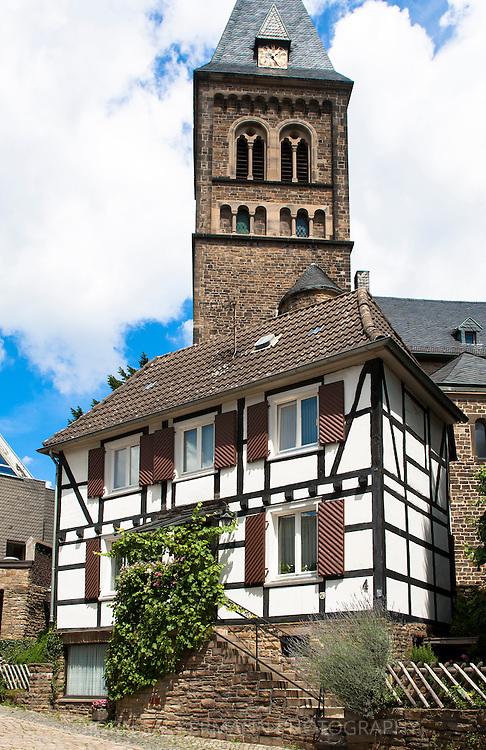 DEU, Germany, Ruhr area, Herdecke, the Collegiate Church.<br /> <br /> DEU, Deutschland, Ruhrgebiet, Herdecke, die Stiftskirche.