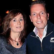 NLD/Hilversum/20130119 - 4e Liveshow Sterren Dansen op het IJs 2013, Rob Geus en partner Suzanne Ozek