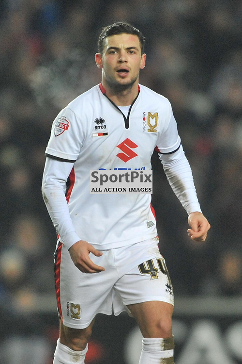 JAKE FORSTER-CASKEY MK DONS, MK Dons v Northampton Town, FA Cup Emirates FA Cup Third round Repay, Stadium MK, Tuesday 19th January 2016