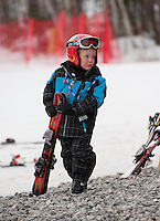 Cliff Nyquist Memorial Slalom race at Gunstock   February 21,  2012.