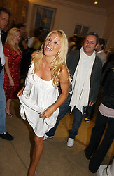 PAMELA ANDERSON at the Peta (People for the Ethical Treatment of Animals) Humanitarian Awards held at Stella McCartney, 30 Bruton Street, London W1 on 28th June 2006.<br /><br />NON EXCLUSIVE - WORLD RIGHTS