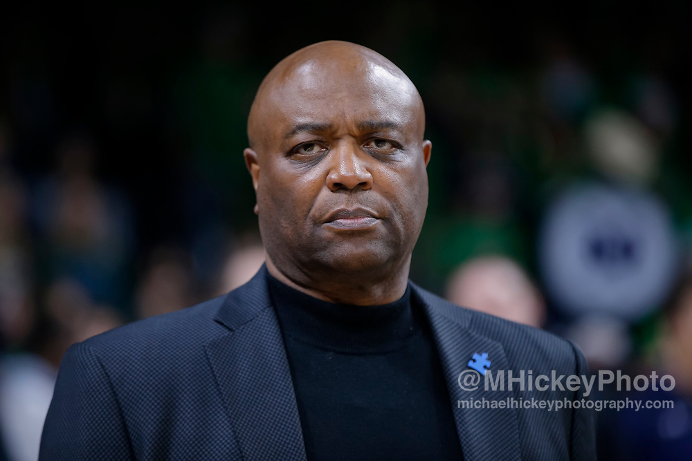 SOUTH BEND, IN - FEBRUARY 10: Head coach Leonard Hamilton of the Florida State Seminoles is seen during the game against the Notre Dame Fighting Irish at Purcell Pavilion on February 10, 2018 in South Bend, Indiana. (Photo by Michael Hickey/Getty Images) *** Local Caption *** Leonard Hamilton