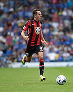 Jamie Devitt on the ball during the Sky Bet League 2 match between Portsmouth and Morecambe at Fratton Park, Portsmouth, England on 22 August 2015. Photo by David Charbit.